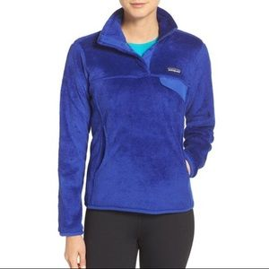 Patagonia Re Tool Snap T Fleece Pullover Blue XS